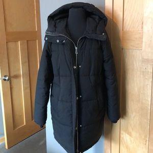 Black H&M winter jacket